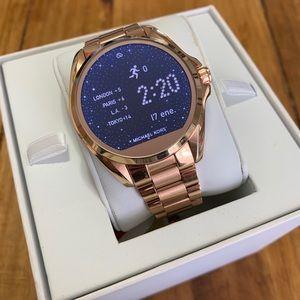 NWT Smart Watch ROSE GOLD Michael Kors MK